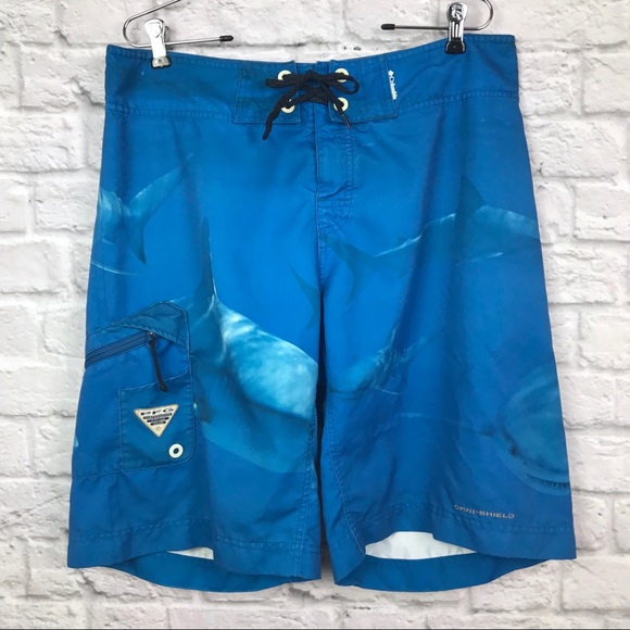 839bacb5ef105 Columbia Other - Men's Columbia PFG Shark Swim Board Shorts size 34